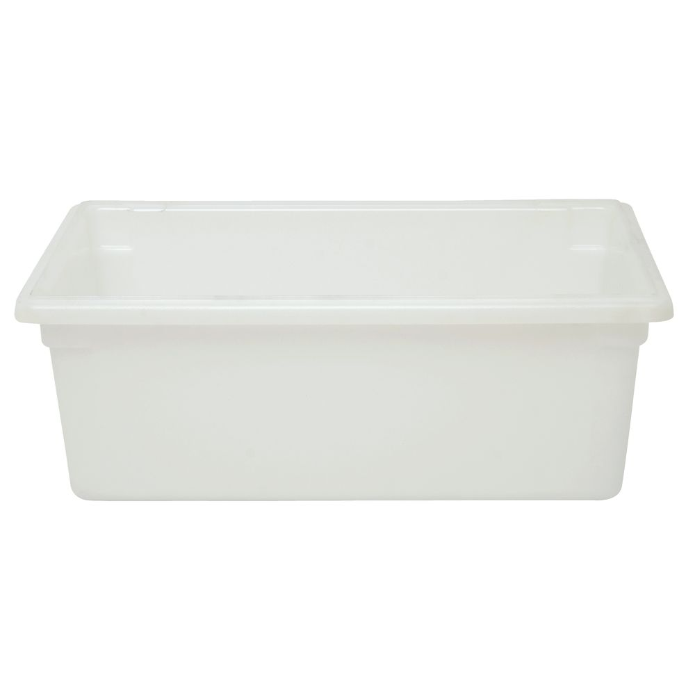 FOOD BOX, 12GALLON/47L, TRANSLUCENT WHITE