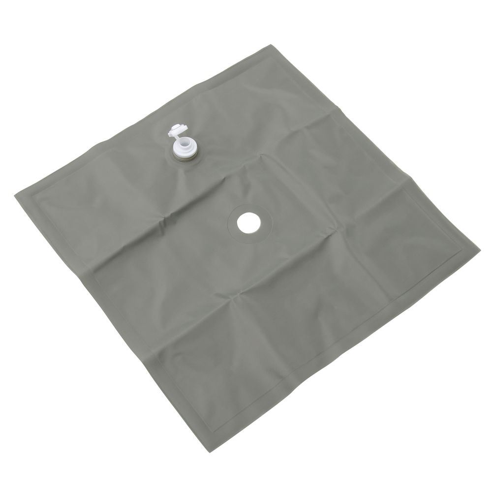 WATER BAG, FEATHER FLAG, VINYL, GRAY, 30 LBS