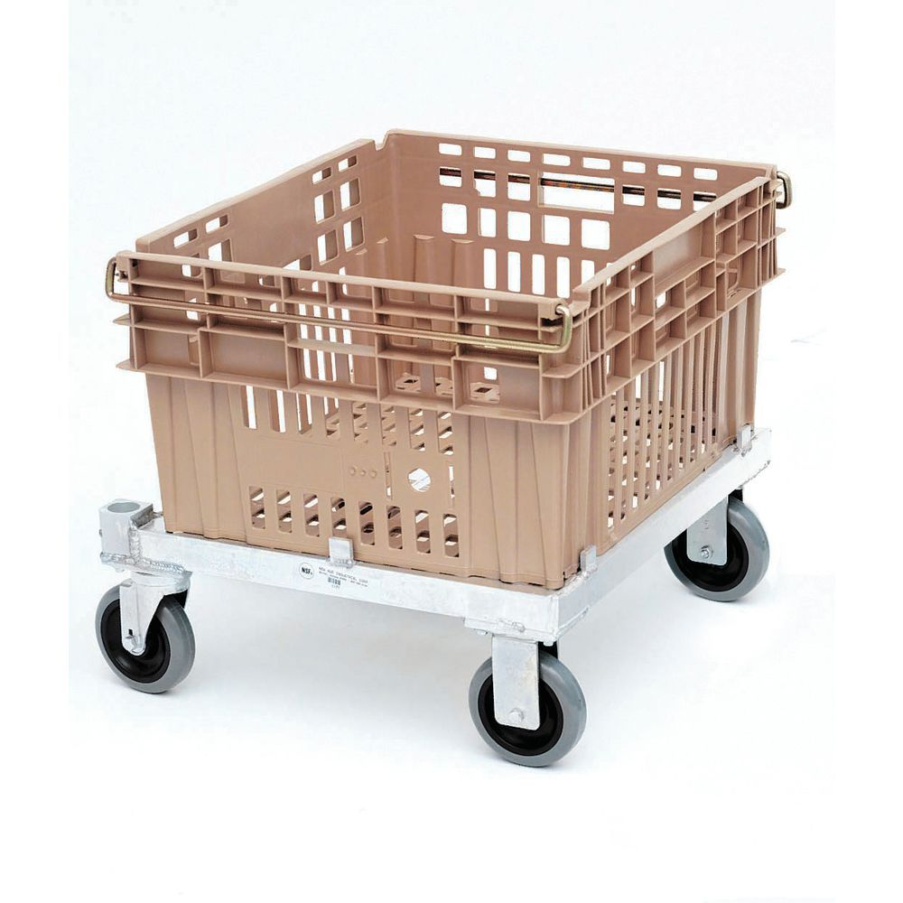 Dolly Carts Store Multiple Chillpac Containers in One Area