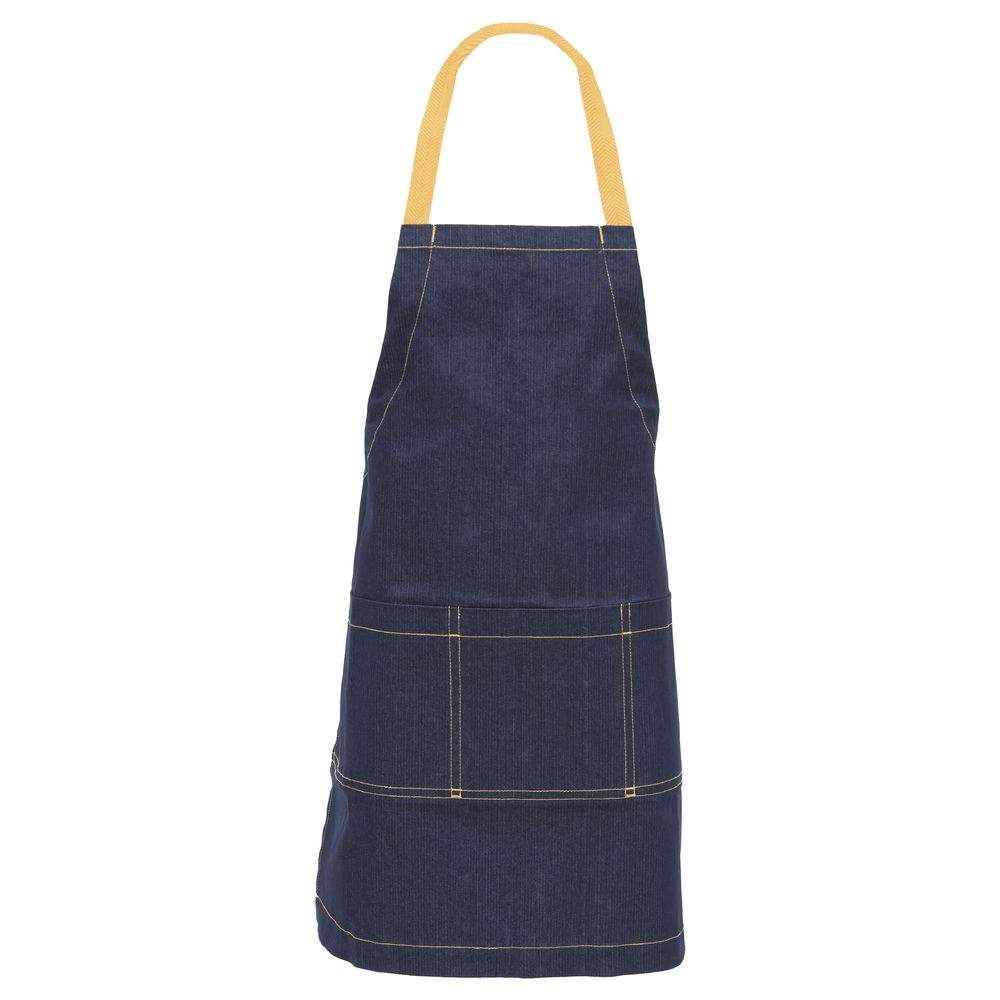 Kitchen Wears™ Diamond Collection™ Bib Apron Denim Navy