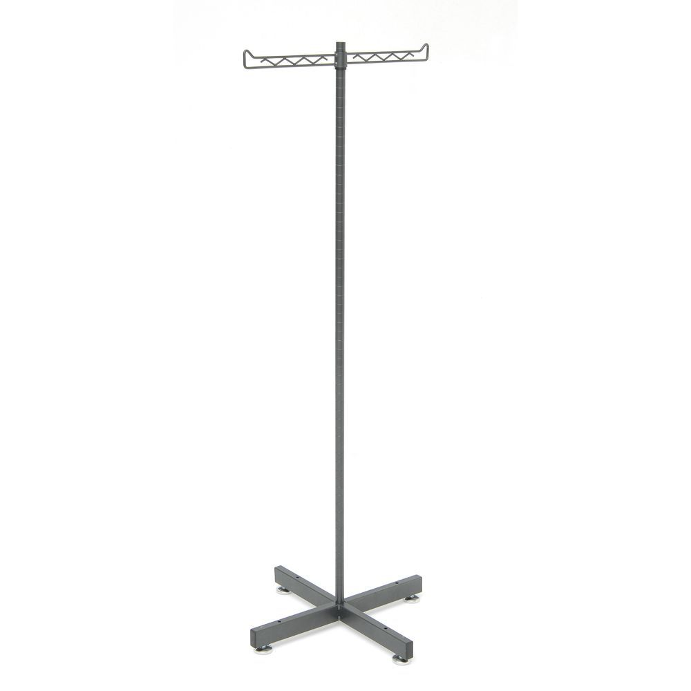 T Stand Features a 2 Way Bar Perfect for Hanging Male and Female Apparel