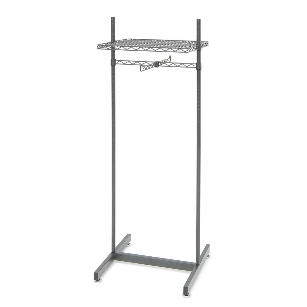 Commercial Garment Rack can Easily Showcase Folded and Hanging Clothing