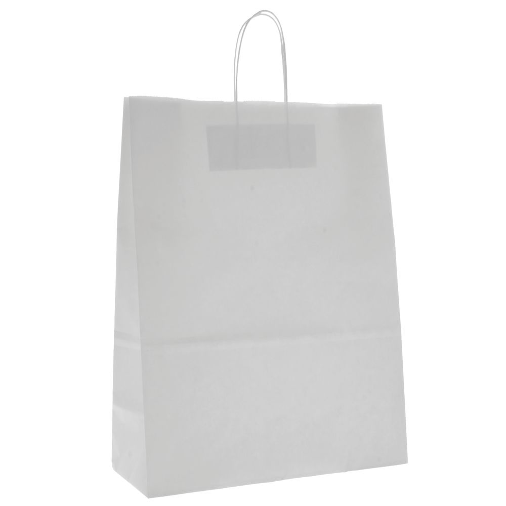 White Paper Bags with a Classic Look