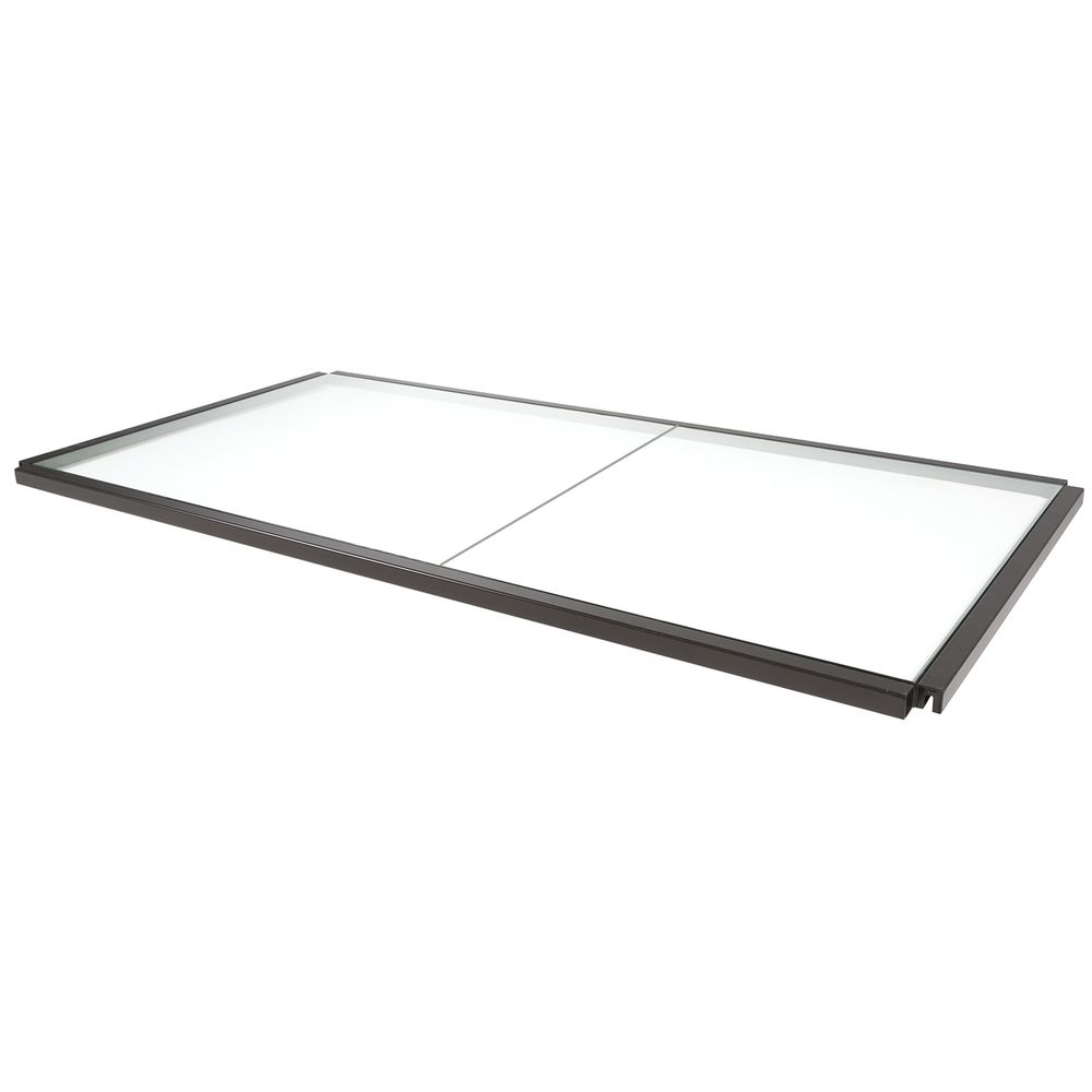 "SHELF, GLASS, F/MERCHANDISER, LINEA, 54""X28"""