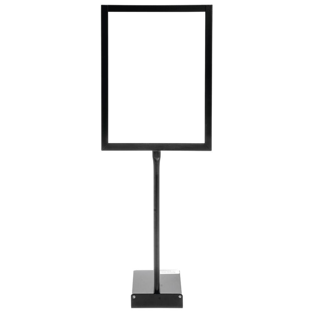 "Shovel Base Rigid Sign Holder, 8.5"" x 11"""