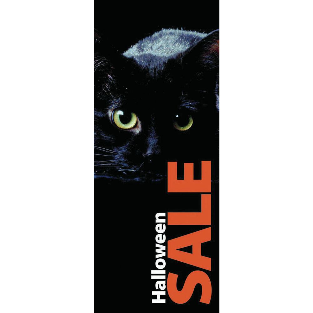 """BANNER, HALLOWEEN, POLY, 24""""WX60""""H"""