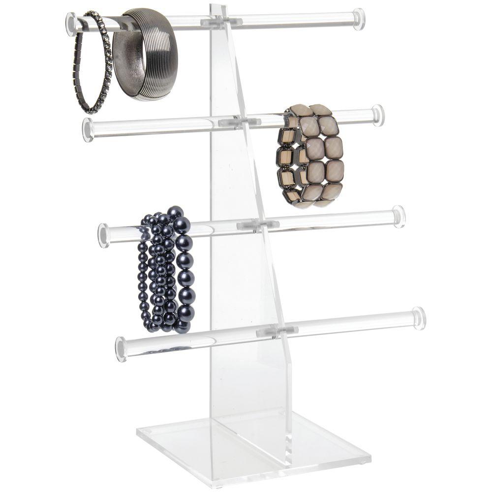 Acrylic Jewelry Display with 4-Tiers