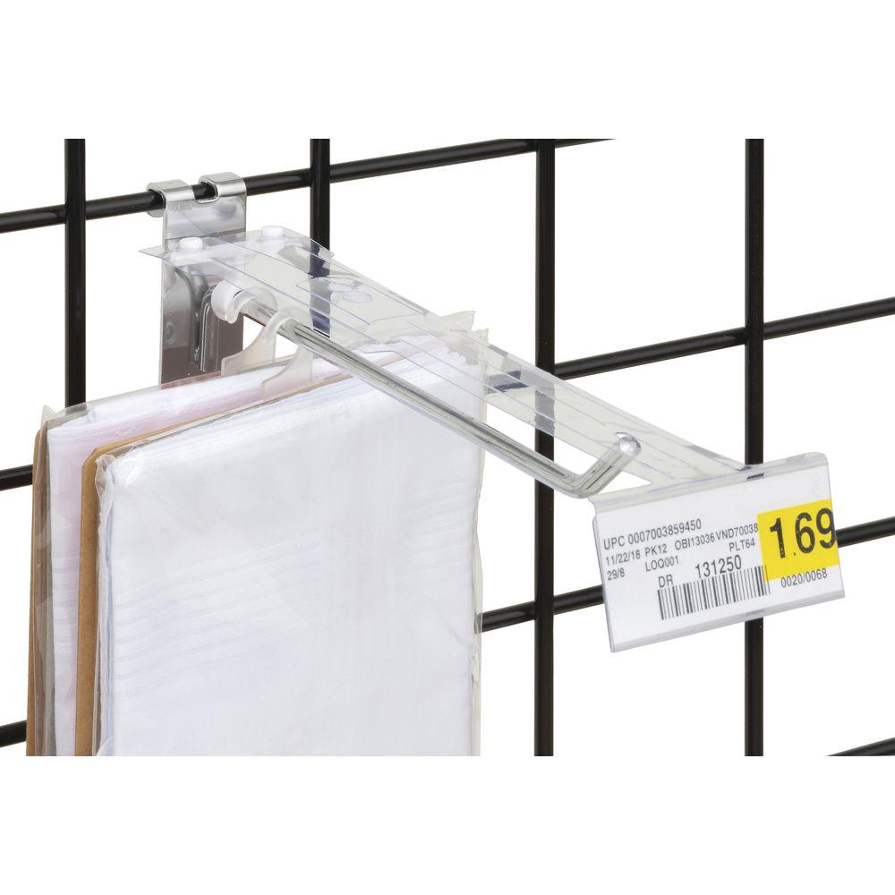 Plastic Peg Board Label Holders |Plastic Peg Board Label Holders
