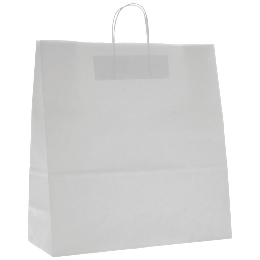 "White Paper Shipping Bags 16"" x 19"""