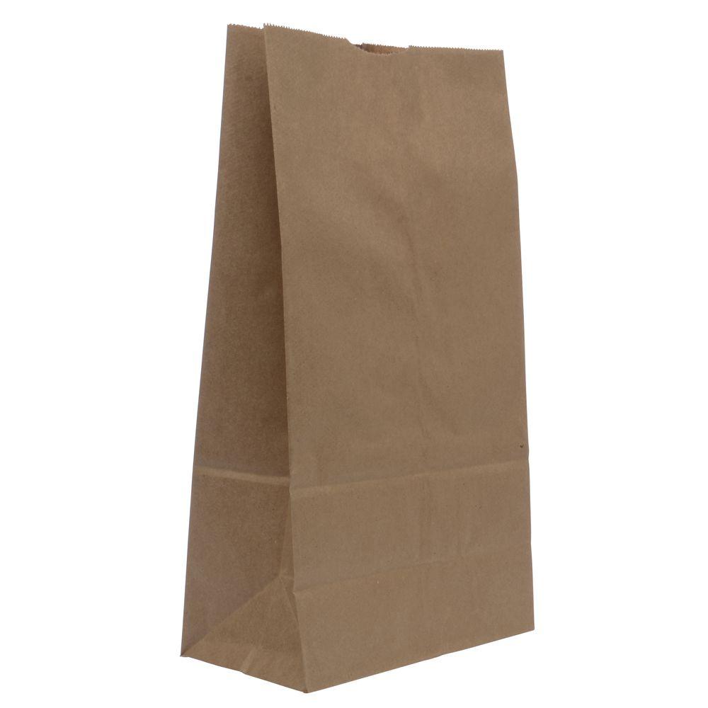 BAG, 12#, NATURAL, KRAFT