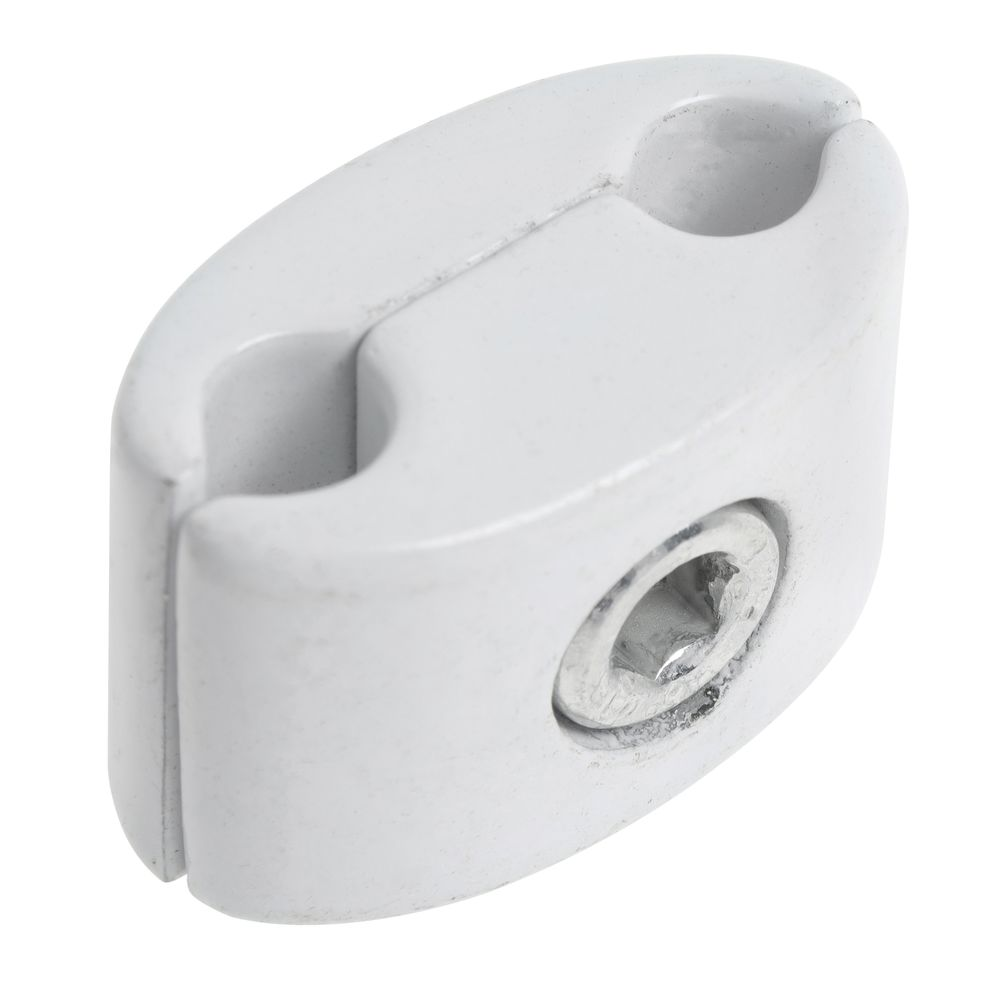 CONNECTOR, GRID TO GRID, ANY ANGLE, WHT