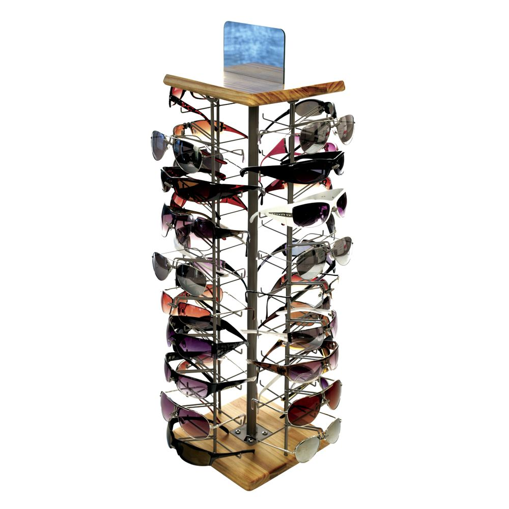 Rotating Countertop Sunglass Display