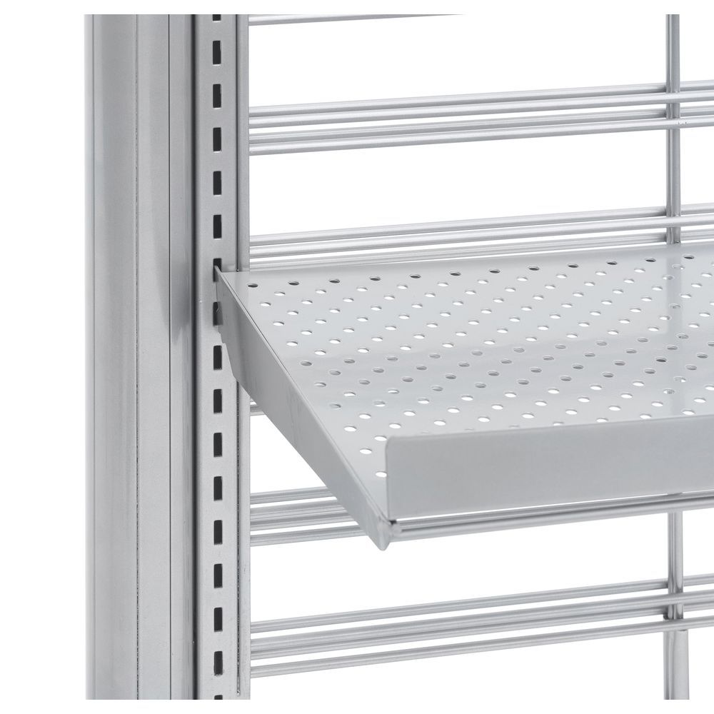 "END PANEL, QUEING SYSTEM, SILVER, 24""W"