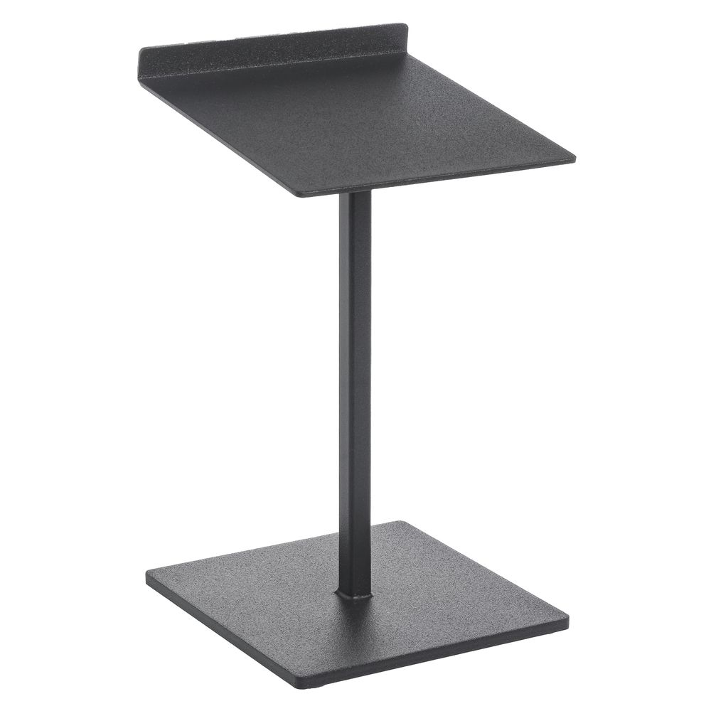 "|Black Texture Shoe Stands, 10"" (H)"