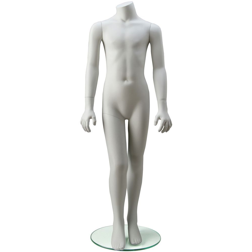 Unisex Mannequin for 8year olds, Arms to the Side.