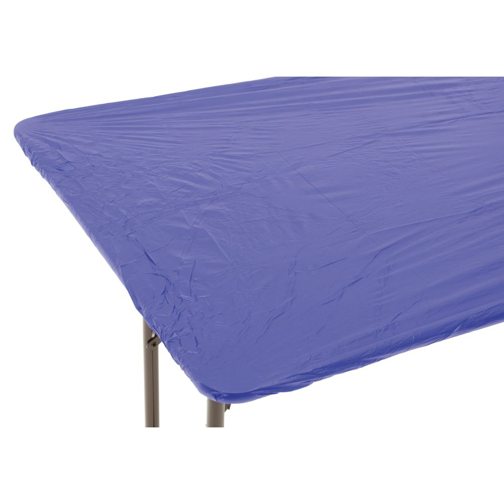 "Kwik-Covers © Royal Blue Plastic Oblong 30""H x 6'L"