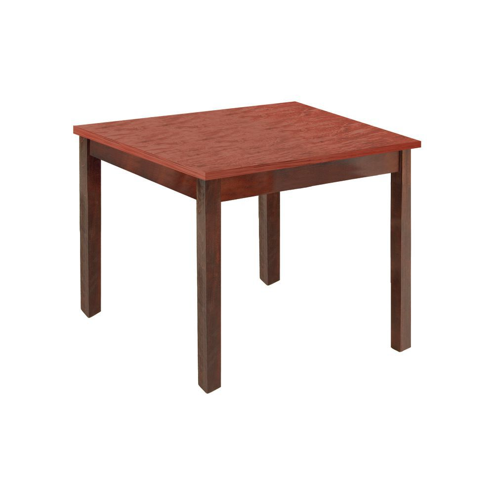 """Product Display Stand Mahogany with Cherry Top 32""""L x 26""""W x 28""""H"""