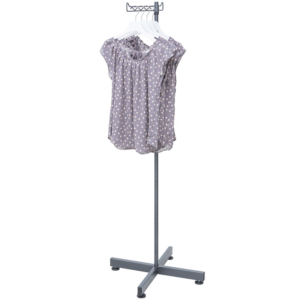Clothes Display Rack features a faceout Allowing you to Hang an Array of Clothing