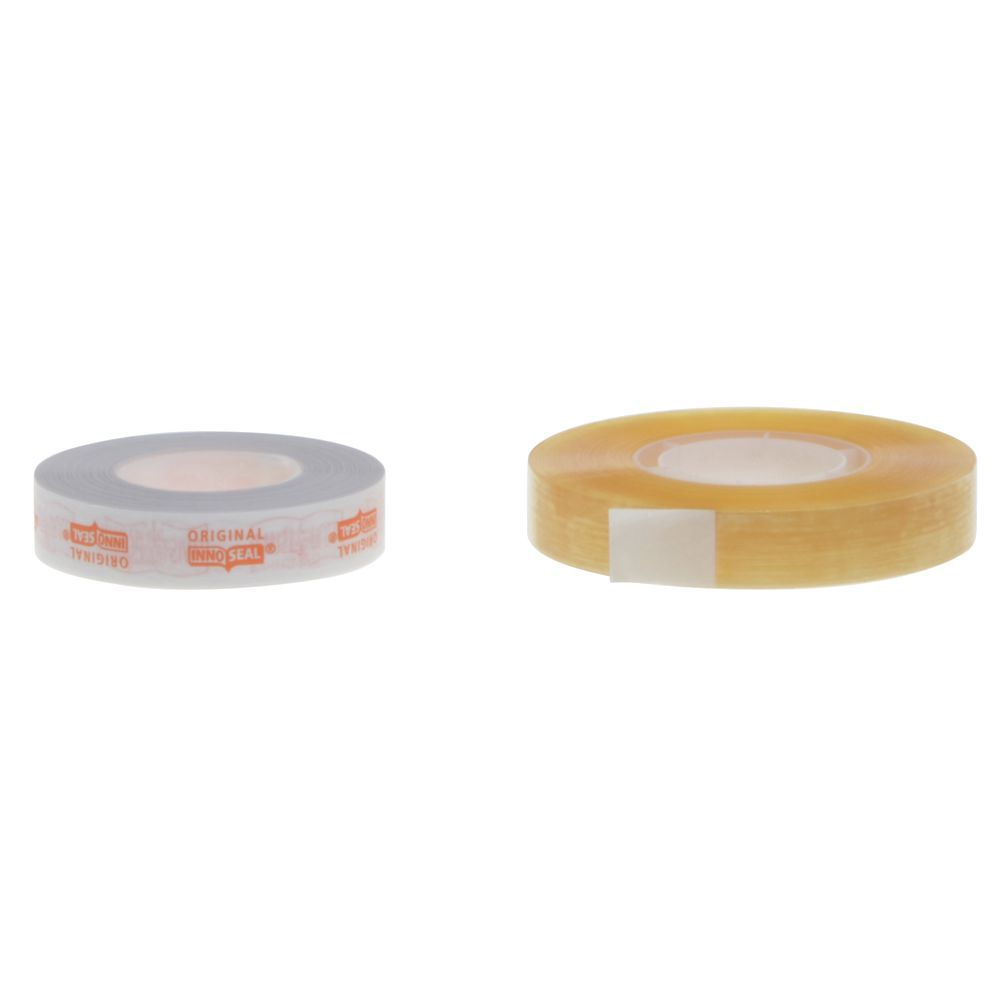 Tamper Evident Poly Tape Clear With Orange Paper