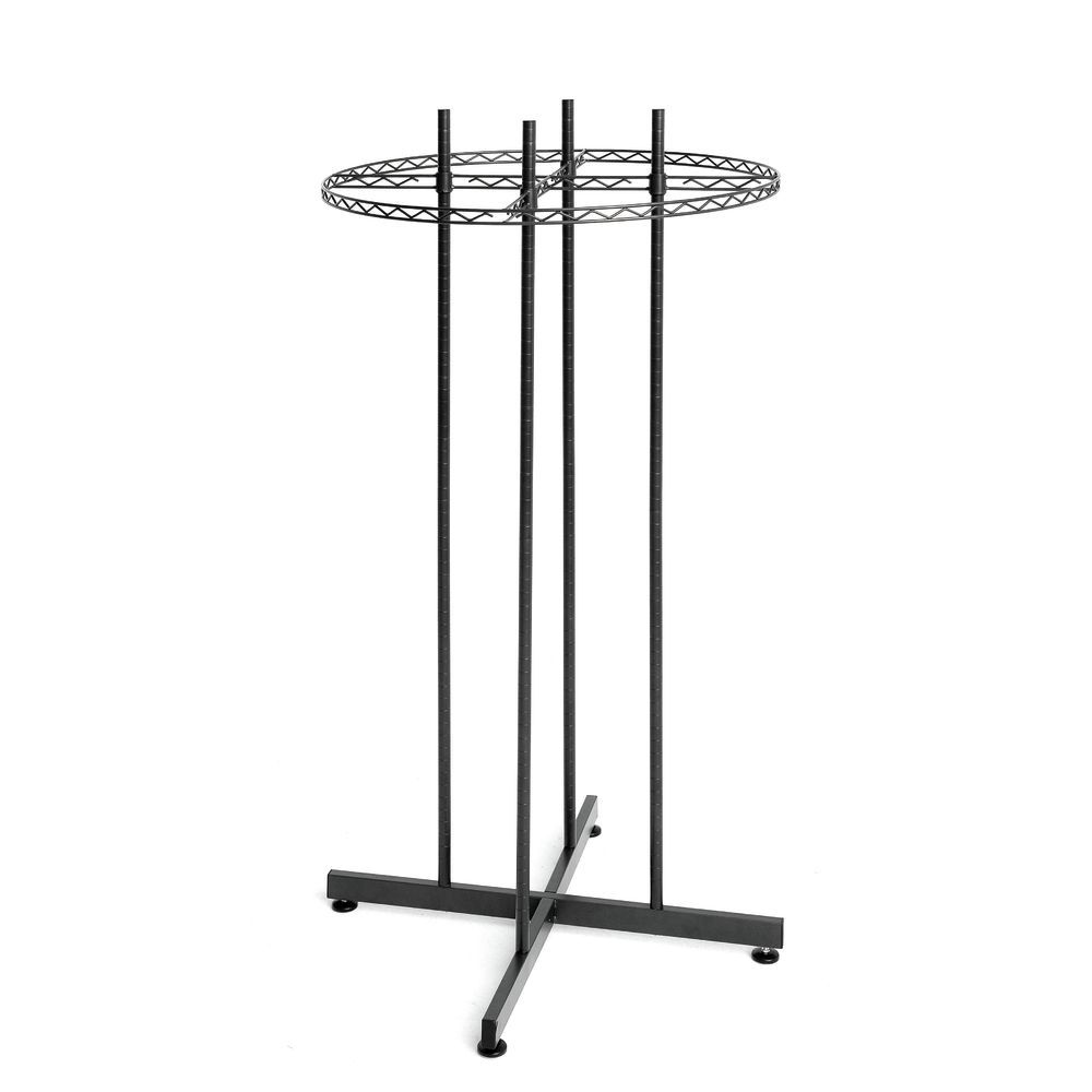 Circular Clothing Rack is Perfect for all of your Apparel and Other Merchandising Needs