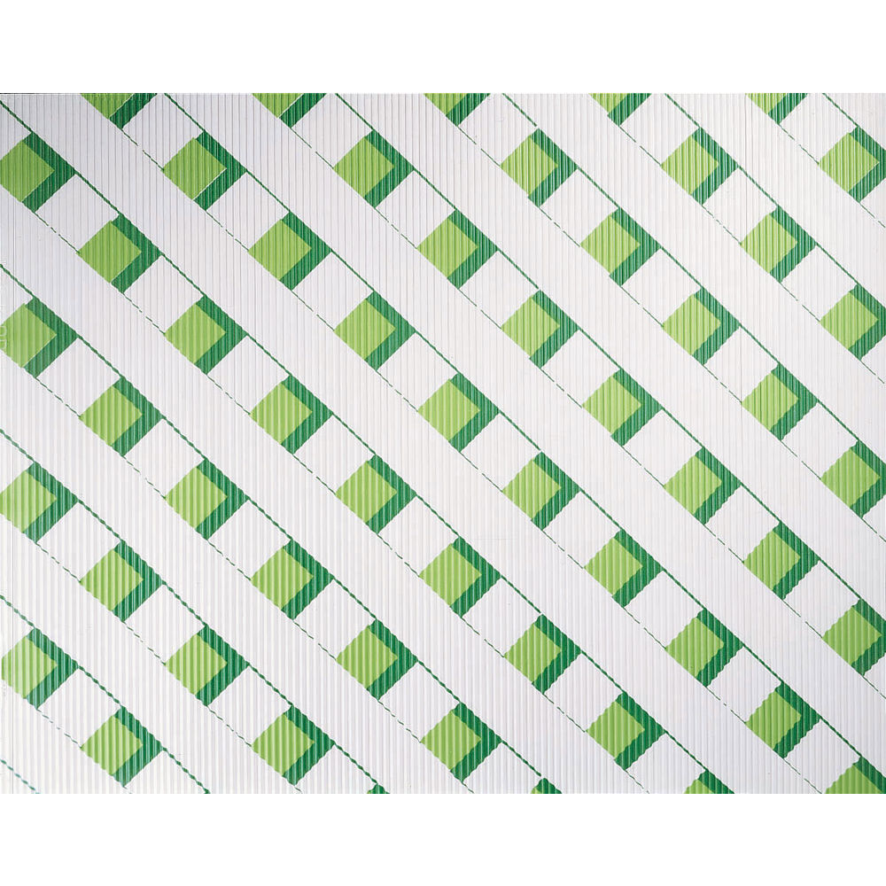 GREEN LATTICE CORRUGATED WRAPS
