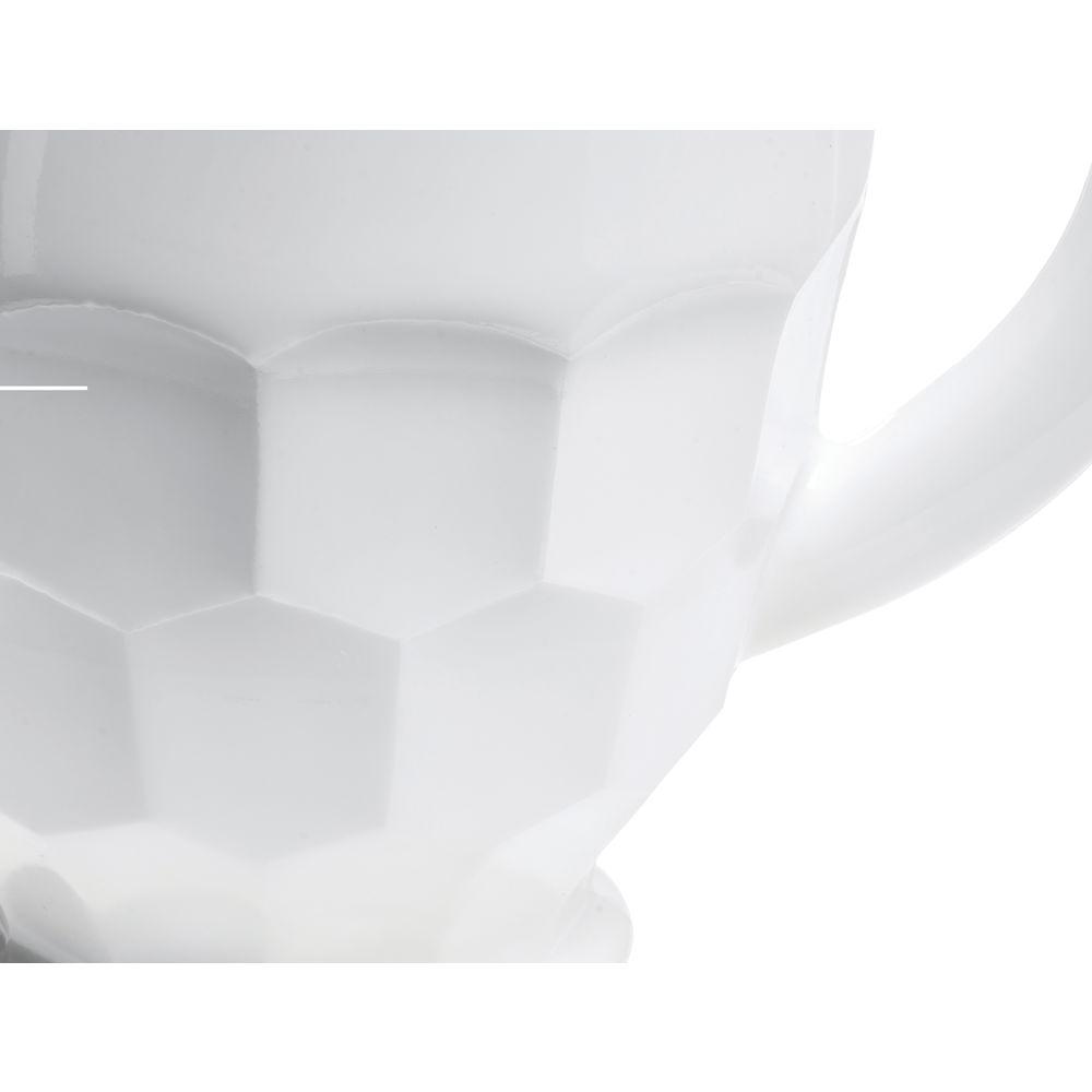 PITCHER, GEORGIAN, GLASS, MILK WHITE, 54 OZ