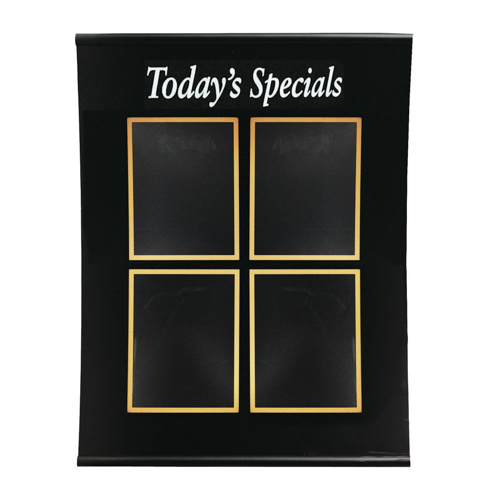 outdoor letters todays special board wall mount black 33 quot h x 26 quot w four 8 189 23878