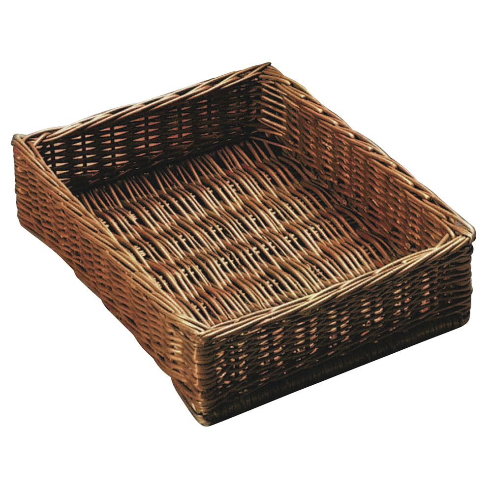 Small Basket Serving Tray with Dowel Rods