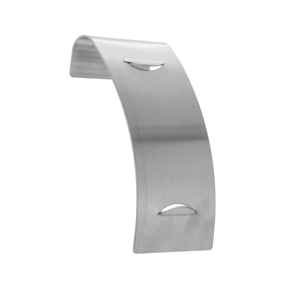 Expressly HUBERT® Stainless Steel Sneezeguard Signholder