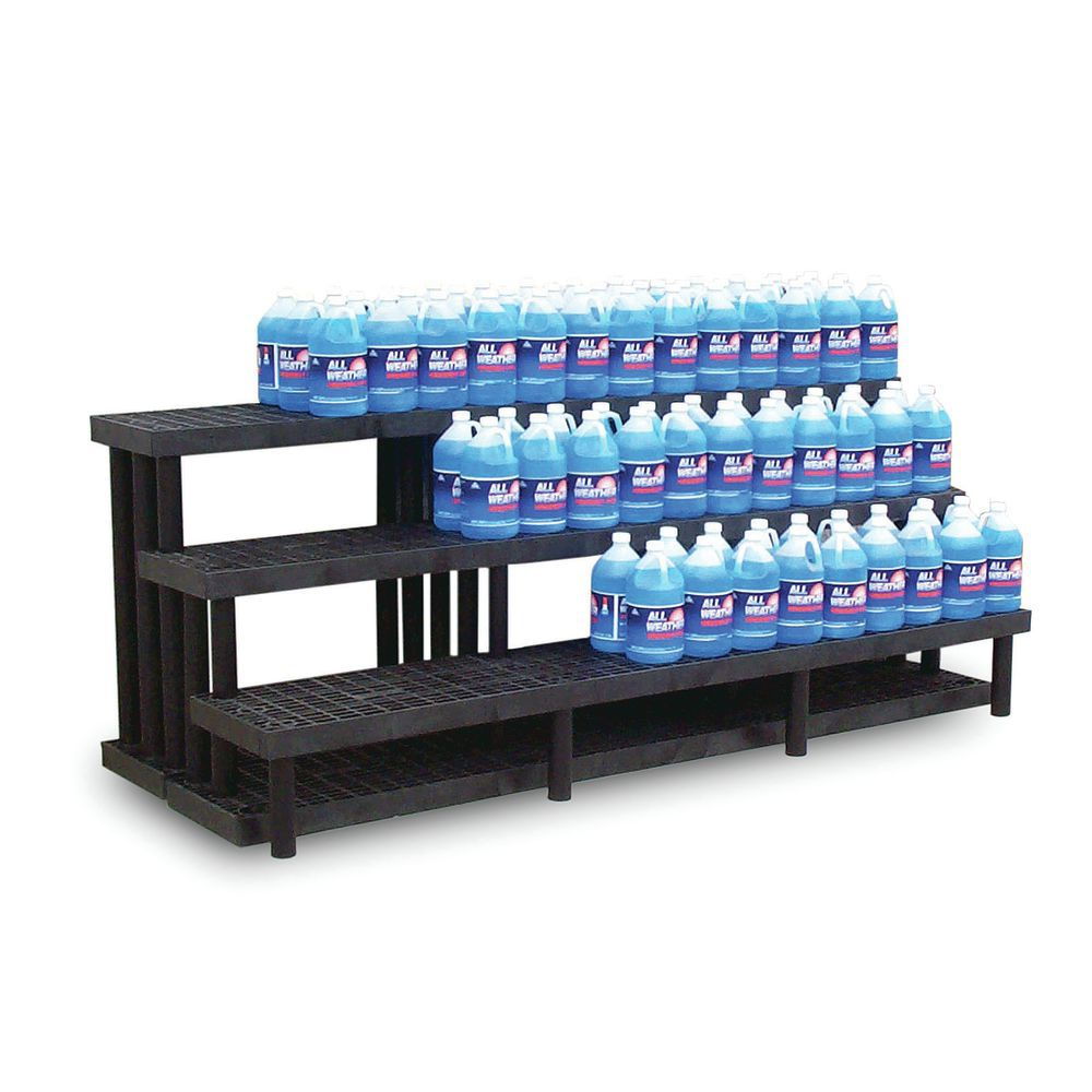 DISPLAY, 3-TIER, HEAVY DUTY, 66LX39DX36H