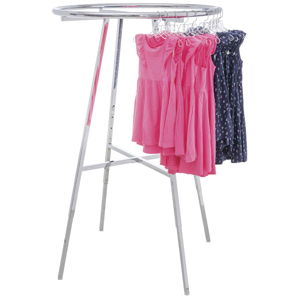 Round Clothing Rack 42 Inch (D)