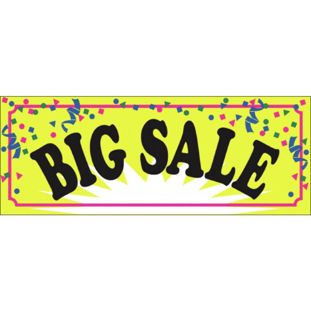 Confetti Big Sale Banner