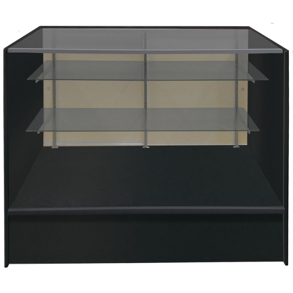 SHOWCASE, FULL VISION, BLACK, 5FT
