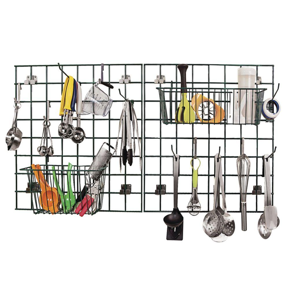 Focus Ez Wall Kitchen Storage Grid Drying Rack