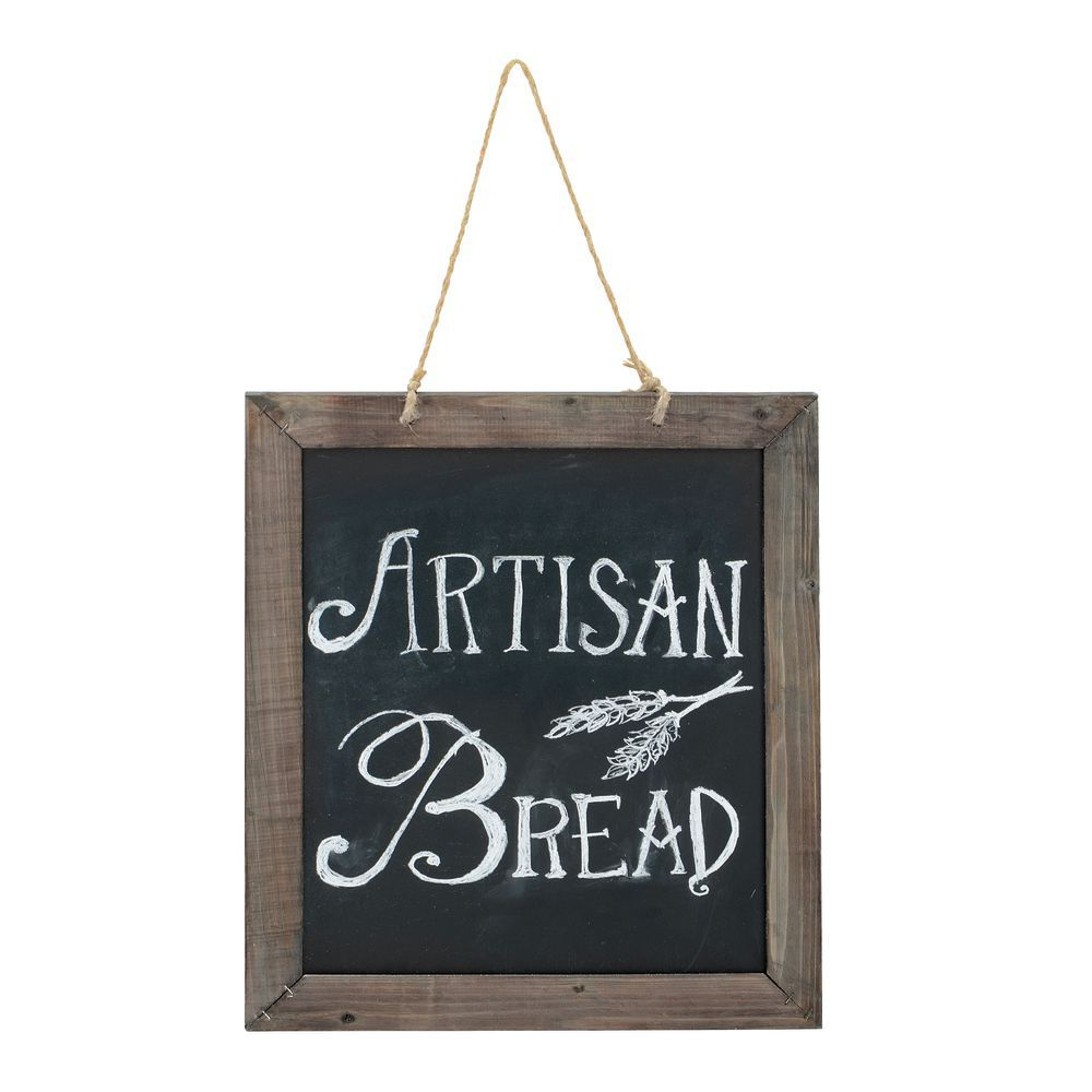 Small Frame Double-sided Hanging Chalkboard