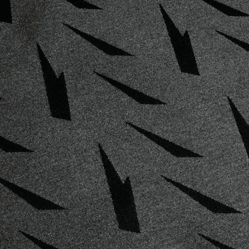 "Table Cloths Black Aspen Damask Polyester Square 54"" x 54"""