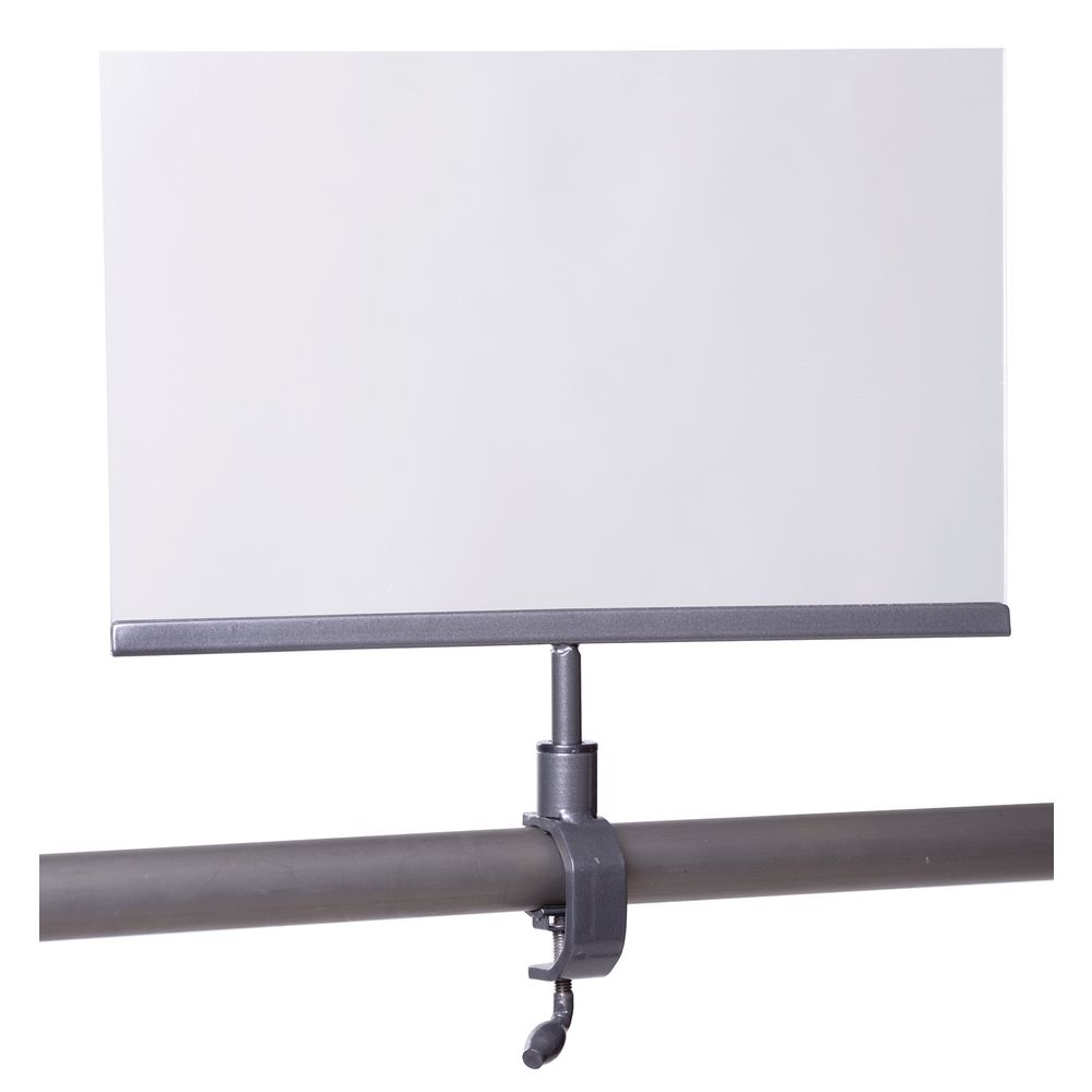 SIGN HOLDER, PIPELINE, GREY, 11W X 7H