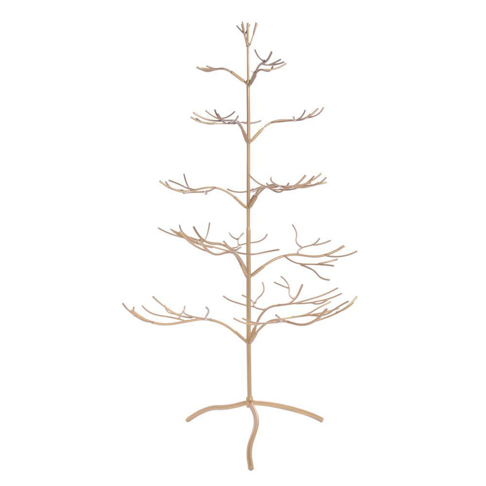 Gold Jewelry Display Tree, Large