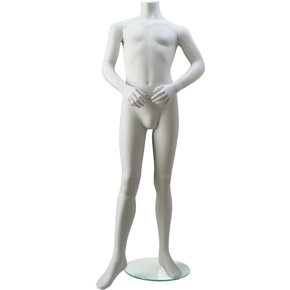 Unisex Mannequin for 12 year olds, Arms in the Front.