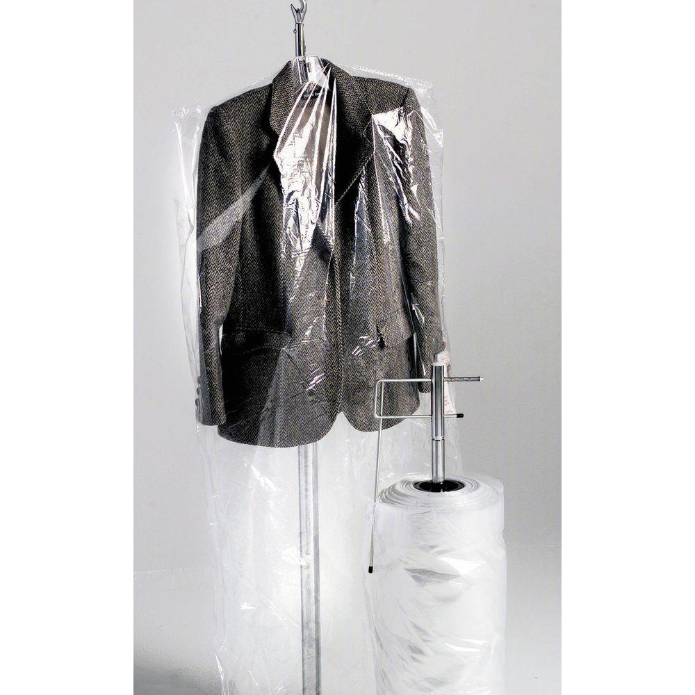72 (L) Clear Plastic Garment Bags