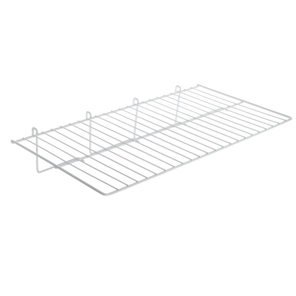 White Gridwall Shelf