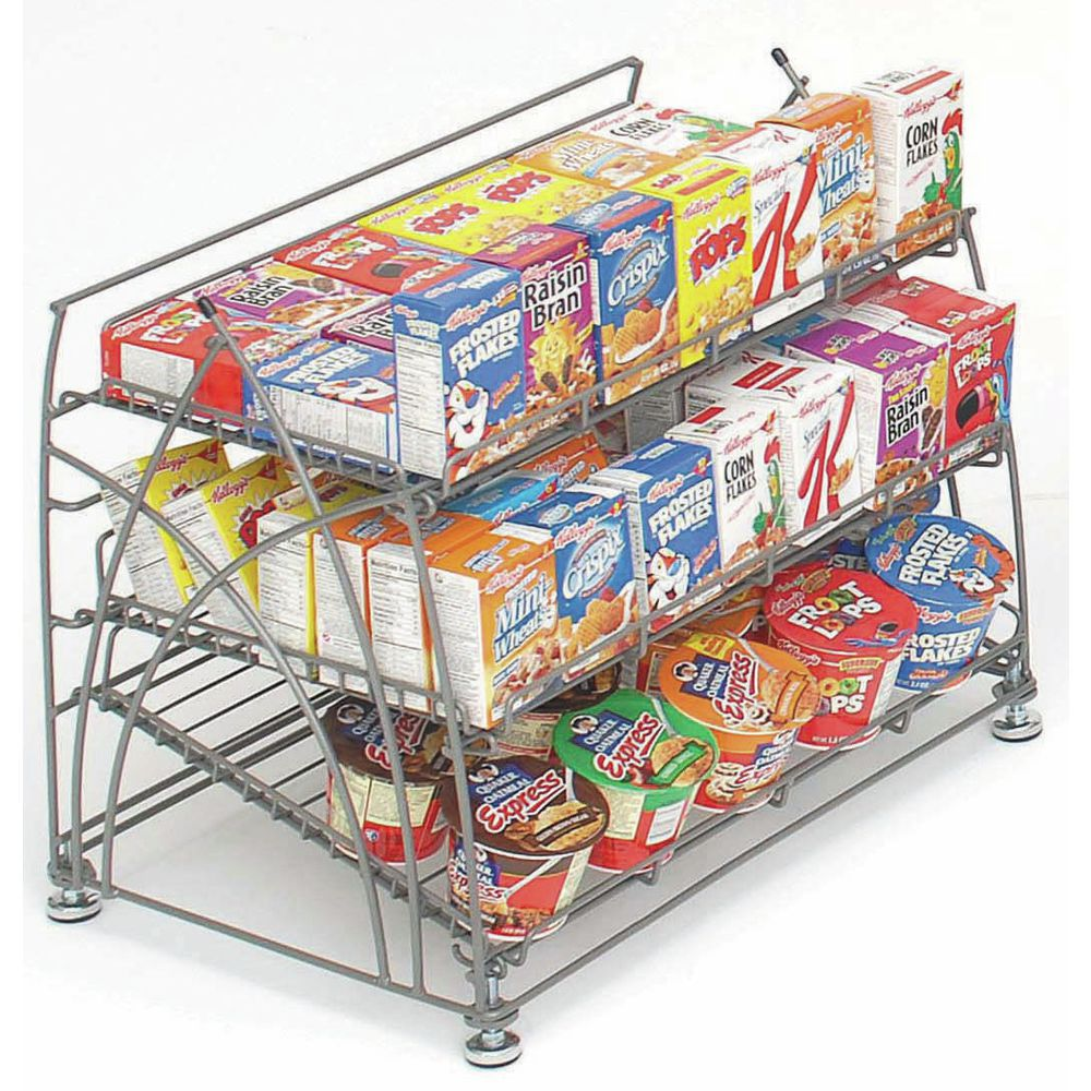 Countertop Wire Display Rack for Point of Sale Purchases