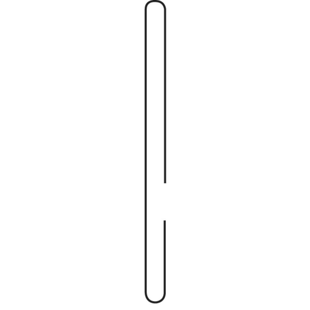 CARDHOLDER, TOP MOUNT, PVC, 2X3.5, 25/BG