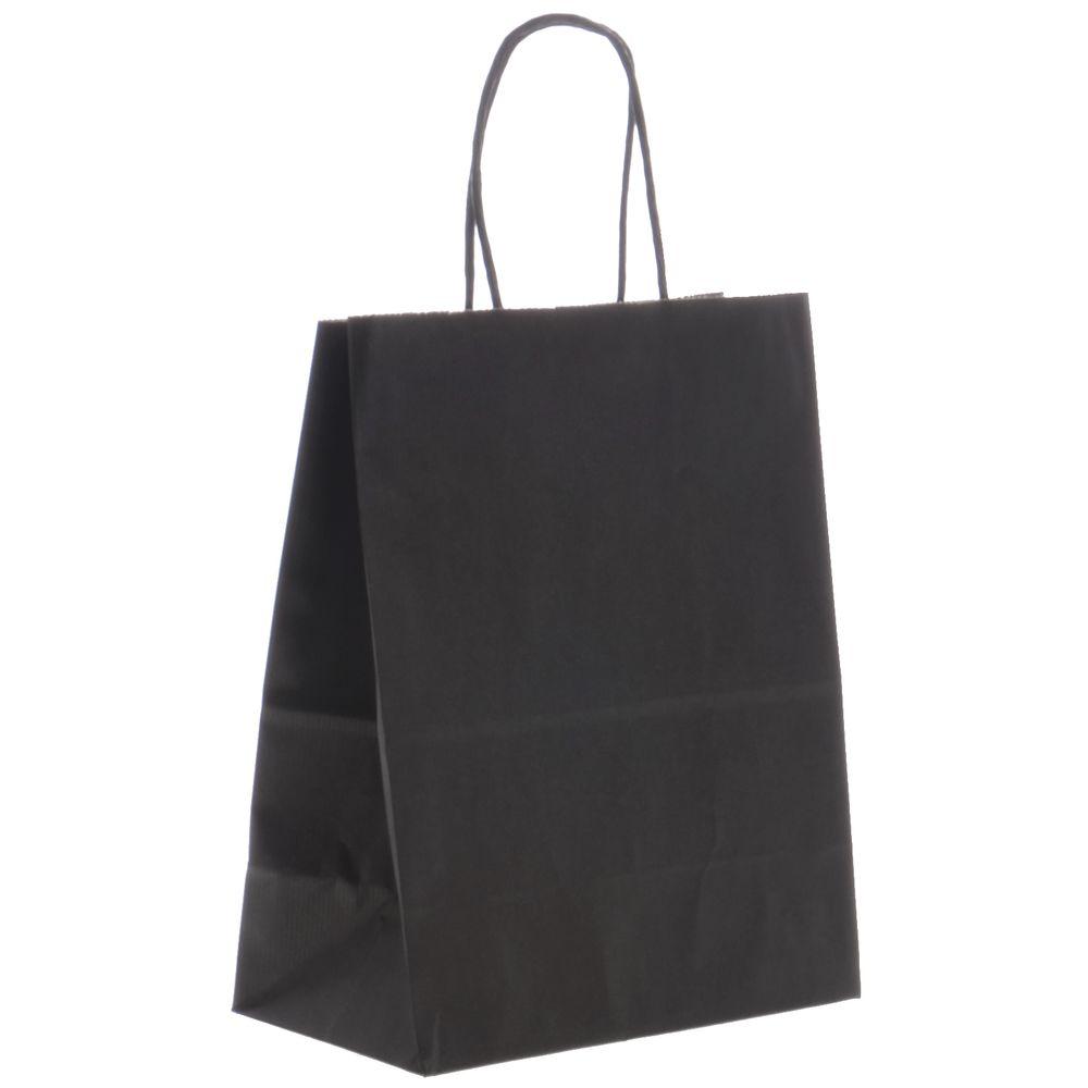 Black Retail Shopping Bags