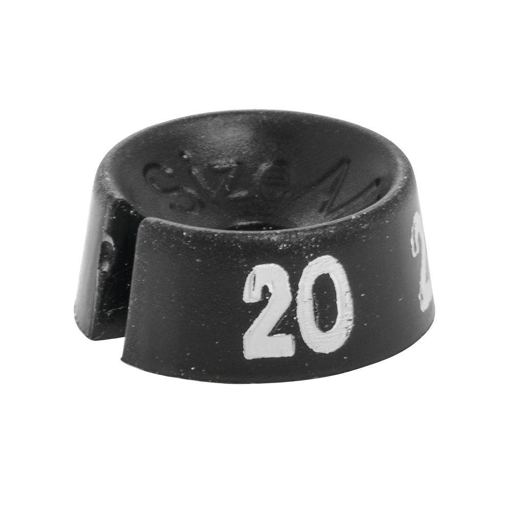 Black Size Marker, Size 20