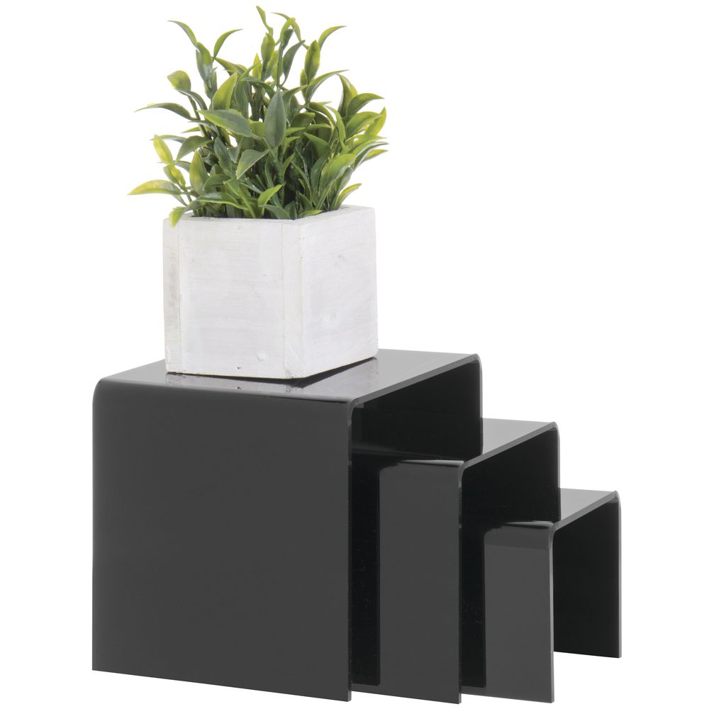Black Acrylic Display Riser