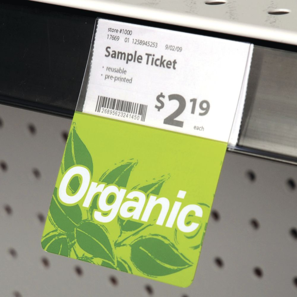 Organic Shelf Talkers