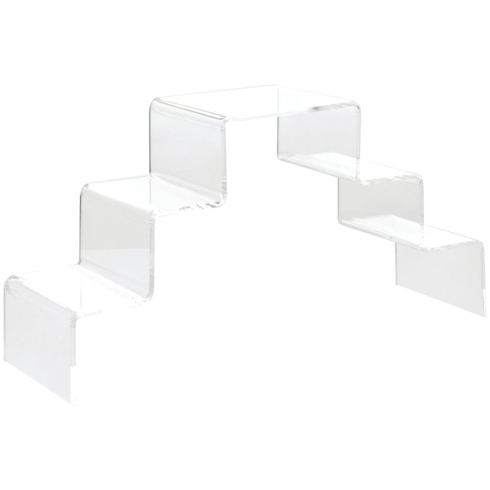 Acrylic Step Display for use with Multiple Items