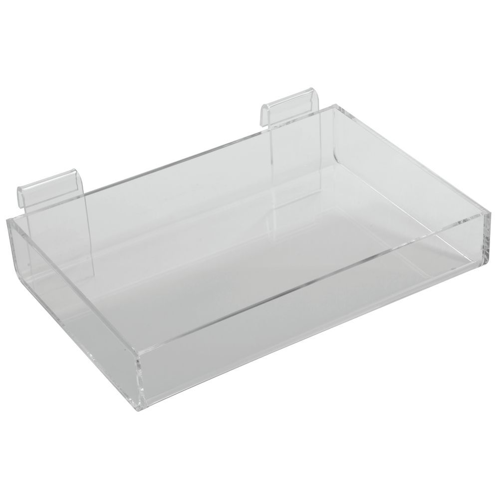 Clear Gridwall Shelf