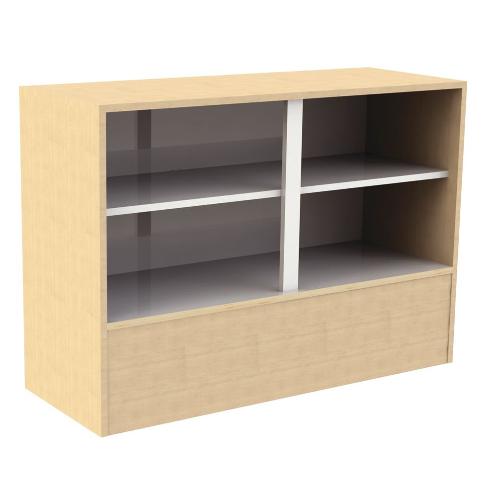 """STAND, WRAP, ADA, MAPLE, 48""""Wx18""""Dx34""""H"""